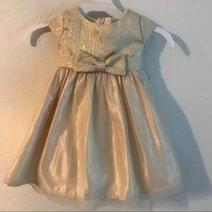 Other - Gold Toddler Dress
